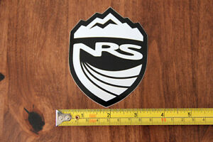 NRS Kayaking STICKER Decal BLACK New Shield