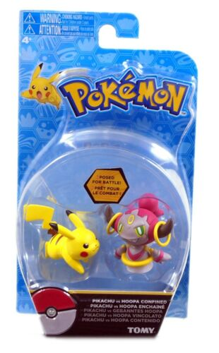 Pokemon Action Figure TOMY New and Sealed Pikachu Vs Hoopa Confined