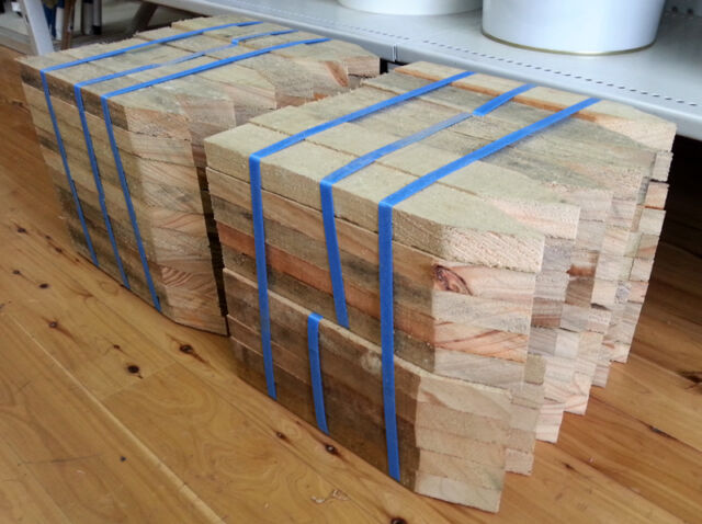 Treated Pine Timber / Wood Pegs / Stakes 50 x 25 x 300mm qty 60 FREE SHIPPING