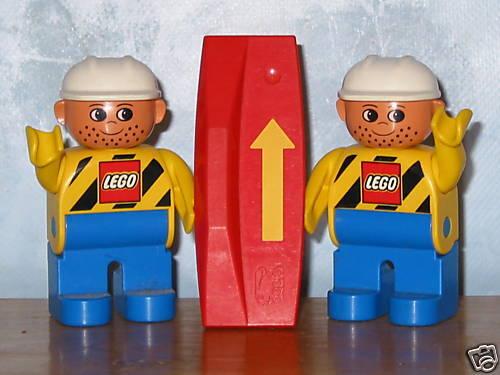 Richtungswechsel Plättchen für E Lok Lego Duplo Eisenbahn