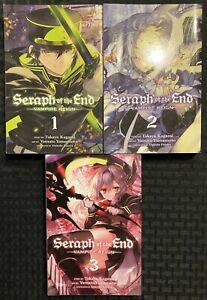 Seraph-Of-The-End-Vampire-Reign-Manga-1-2-3-Viz-Action-Graphic-Novel