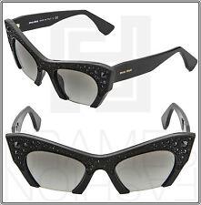 a355d4a9582 item 2 MIU MIU RASOIR Cat Eye Sunglasses SMU 02Q 1AB-0A7 Black Rock Crystal  Pave MU02QS -MIU MIU RASOIR Cat Eye Sunglasses SMU 02Q 1AB-0A7 Black Rock  ...