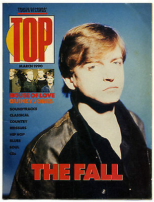 TOWER RECORDS TOP Magazine The Fall House of Love Skid Row Flesh For Lulu Belove