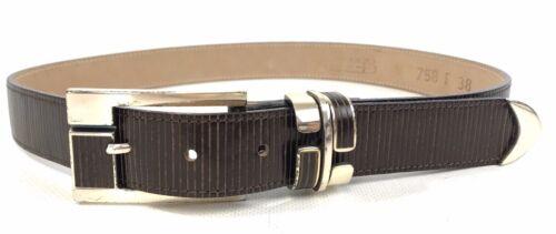 b.b. Simon Women Skinny Leather Waist Belt Size Me