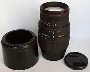 Objectif-SIGMA-AF-Zoom-APO-Macro-DG-70-300-mm-f-4-5-6-SONY-alpha