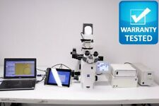 Zeiss Axio Observer Inverted Fluorescence Phase Contrast Motorized Microscope