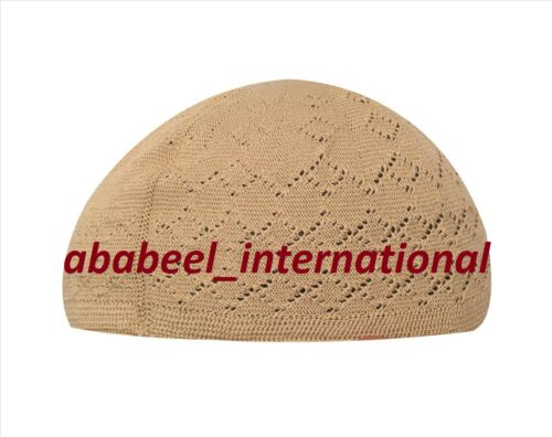 Men Muslim Namaz Hat Islami Cap Kufi Prayer Egyptian Cap
