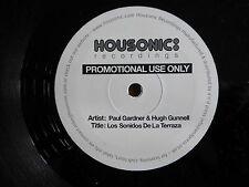 """PAUL GARDNER - Los Sonidos De La Terraza 12"""" Vinyl Promo 2006."""
