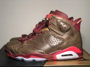 4390ded01426 AIR JORDAN 6 VI Retro Championship Cigar Size US 11   UK 10 - 384664 ...