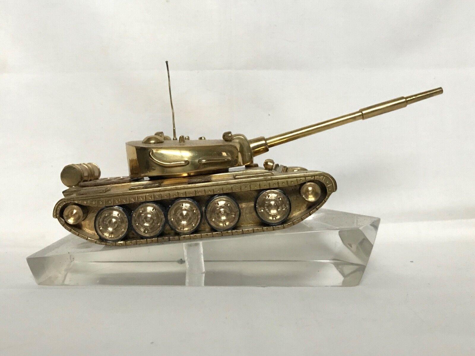 Escritorio De Metal Vintage Top Model Militar Ejército Tanque