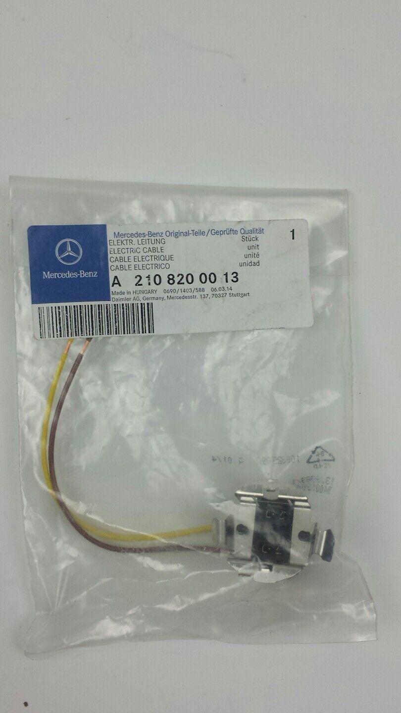 Genuine Mercedes H7 Socket 2108200013 Ebay Wiring Harness Clip Holder