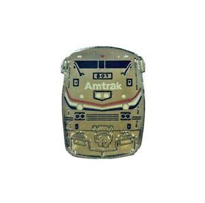 Amtrak-GE-GENESIS-Locomotive-Engine-Train-Metal-Lapel-PIN-Railroad-Railway-NEW
