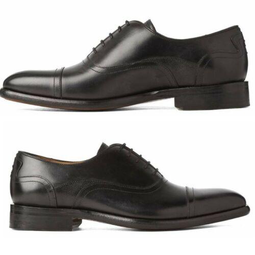 Uk9 OLIVER SWEENEY Men/'s Black Leather Souza Oxford Lace Up Smart Formal Shoes