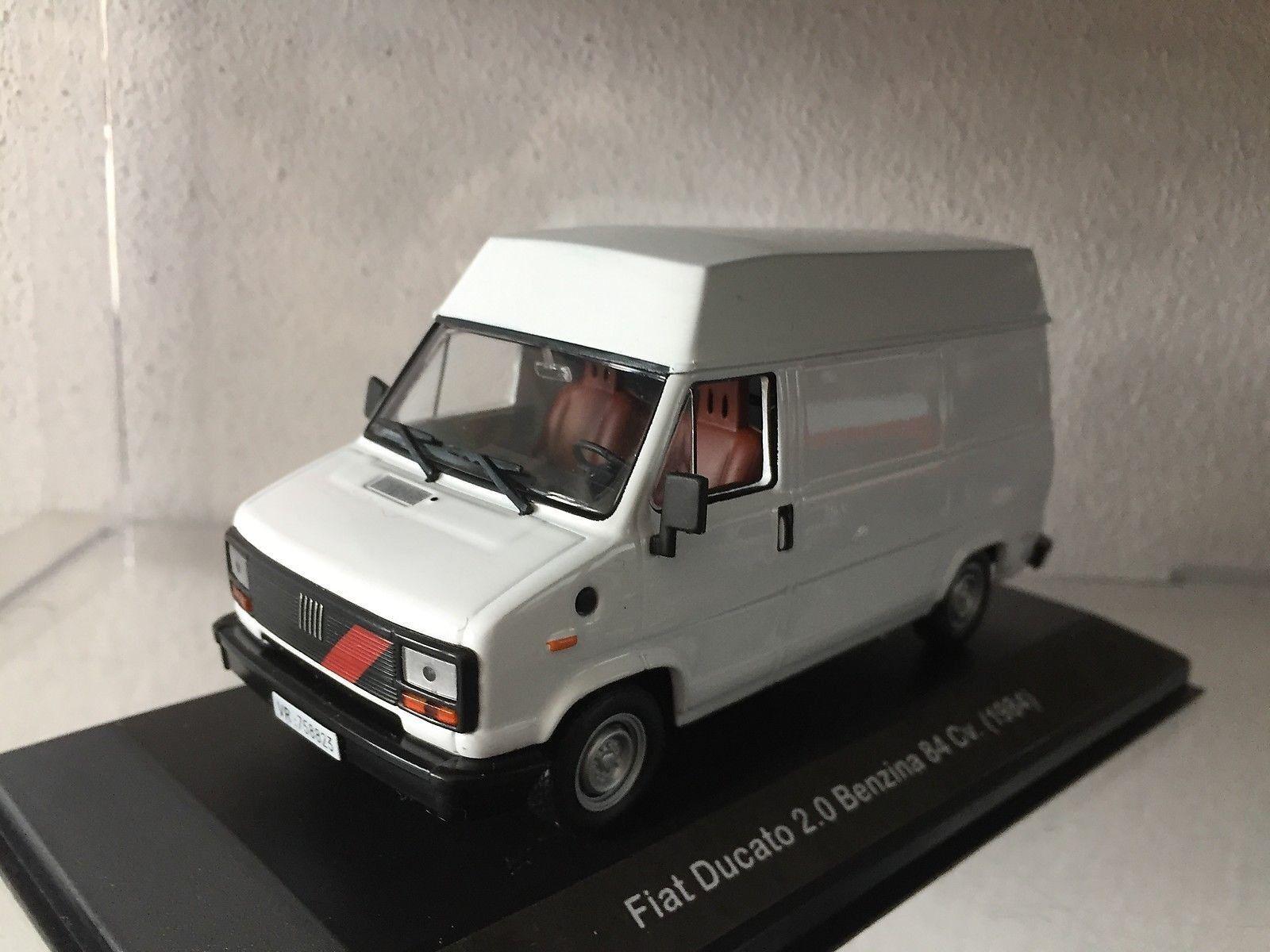 457 Fiat Fiat Fiat Ducato 2.0 Benzina 84 Cv. (1984) Bianco - DIE CAST 1 43 26a2cf