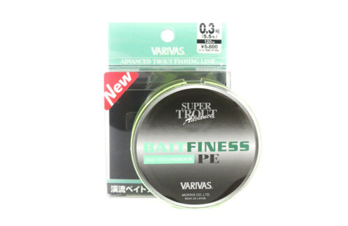 Varivas P.E Linie Super Trout Advance Bait Finesse 120m P.E 0.3 5.5lb 6687