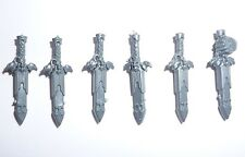 Warhammer 40K Adeptus Custodes Custodian Guard Power Knives x 6 – G644