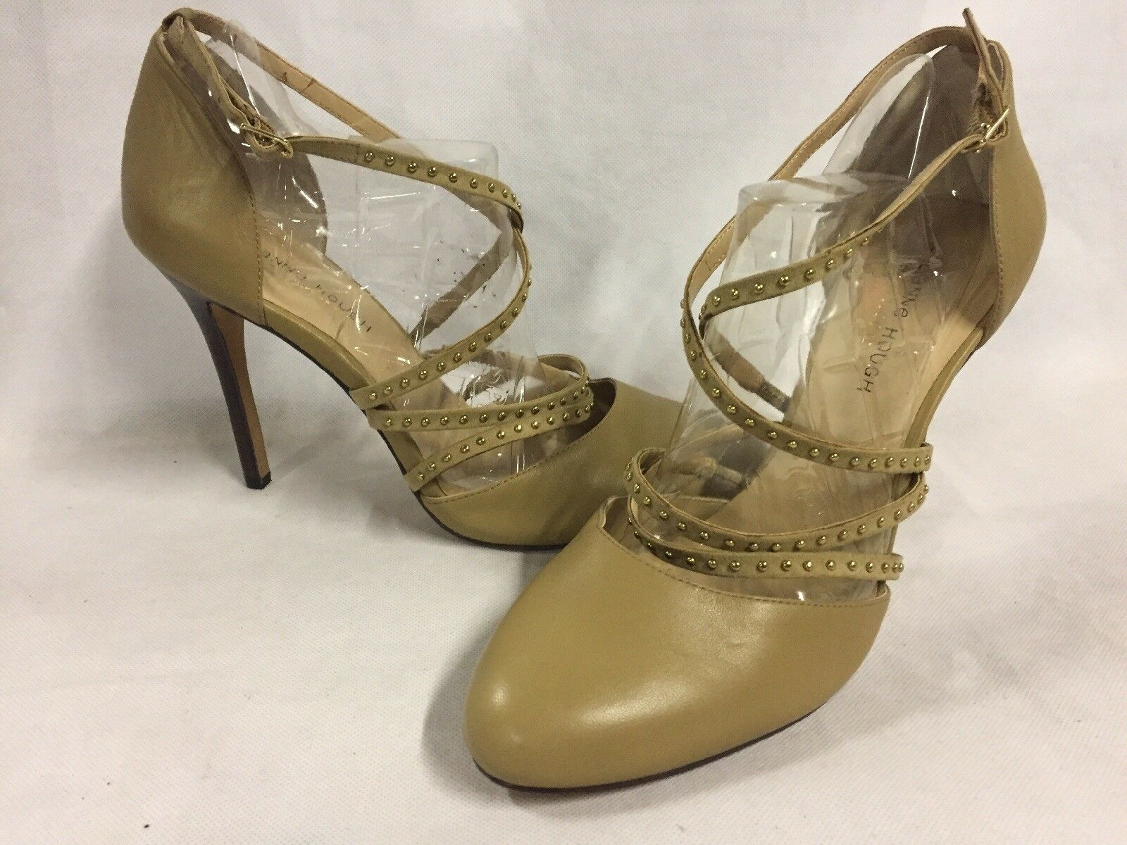 Julianne Hough Women's Heels shoes, Tan, Size 11 B Eur 41,Bridal.Christmas