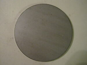 """Disc Shaped Circle 8.00/"""" Diameter .250 A36 Steel Round 1//4/"""" Steel Plate"""