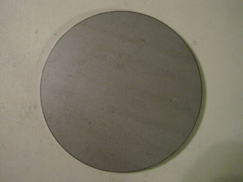 "Disc Shaped 1//4/"" Steel Plate .250 A36 Steel 7.25/"" Diameter"