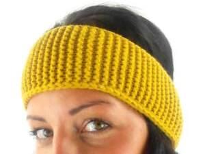 O/'Neill Stirnband Headband Auricle gelb Häkelmuster Ohrenwärmer