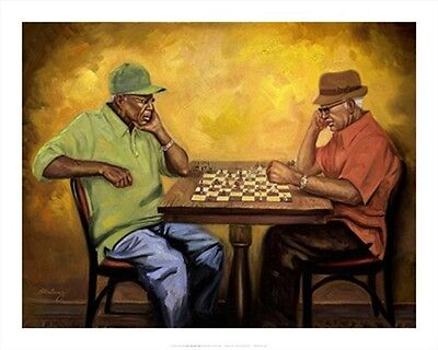"""""""Chet and Hector"""" by Sterling Brown - African American Art - Urban Art"""