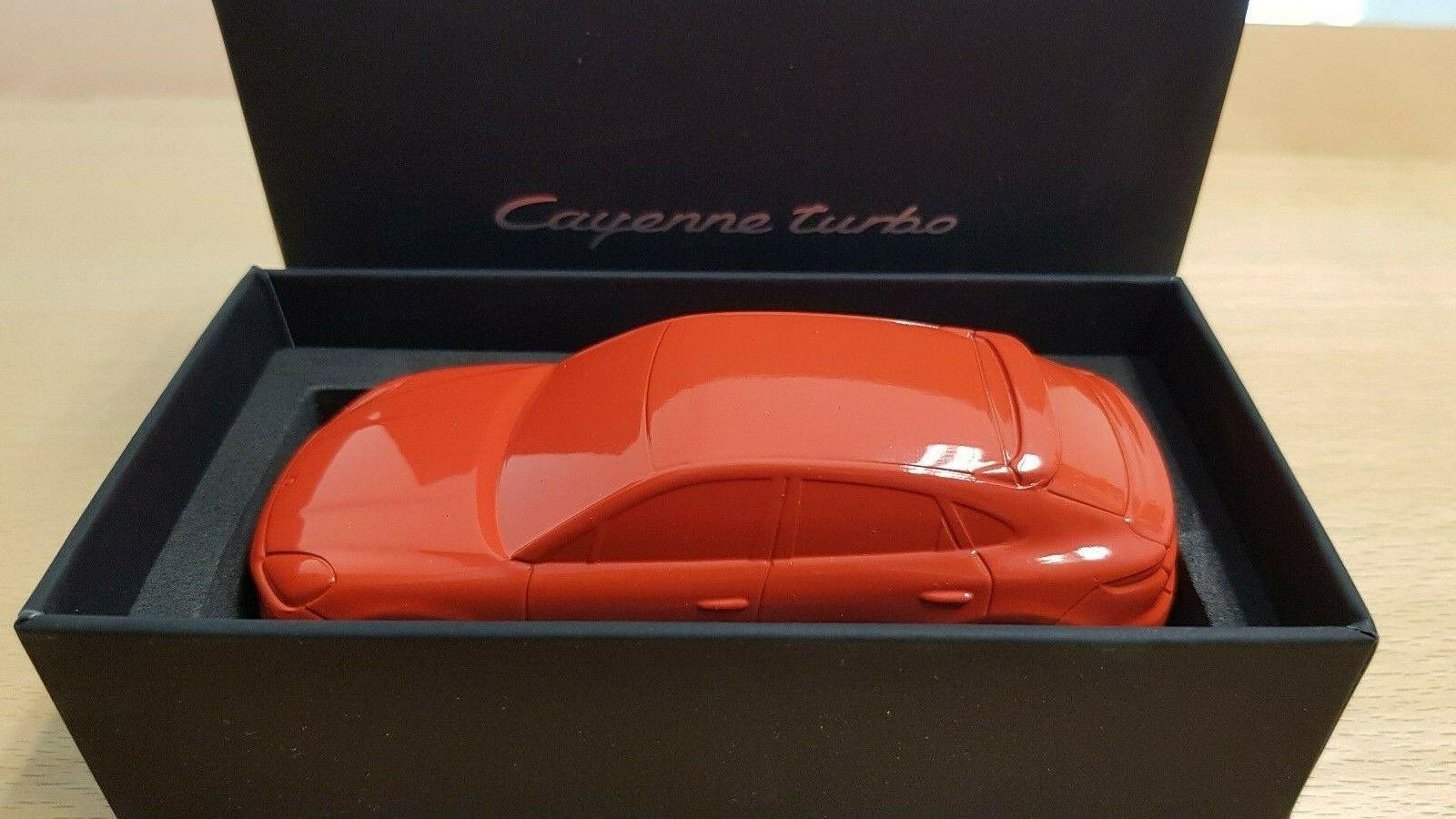 Porsche Cayenne Coupe Turbo 2019 - Lava orange scale 1 43 Paperweight