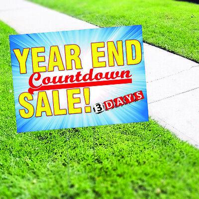 Retirement Sale Plastic Novelty Indoor Outdoor Coroplast Yard Sign