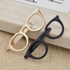 Tie Clip Accessories Retro Round Glasses Shape Creative Tie Bar Necktie Clip