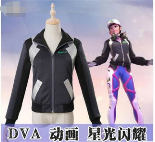 New Clothing Jumpsuit The Game D.VA Tracer//Widowmaker// Cosplay Costumes Full Set