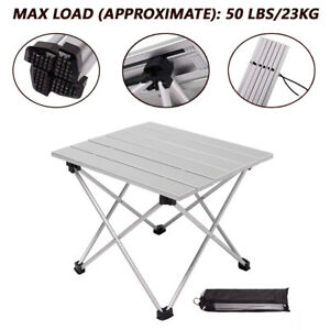 Outdoor-Portable-Fold-Aluminum-Roll-Up-Table-Lightweight-Camping-Picnic-with-Bag