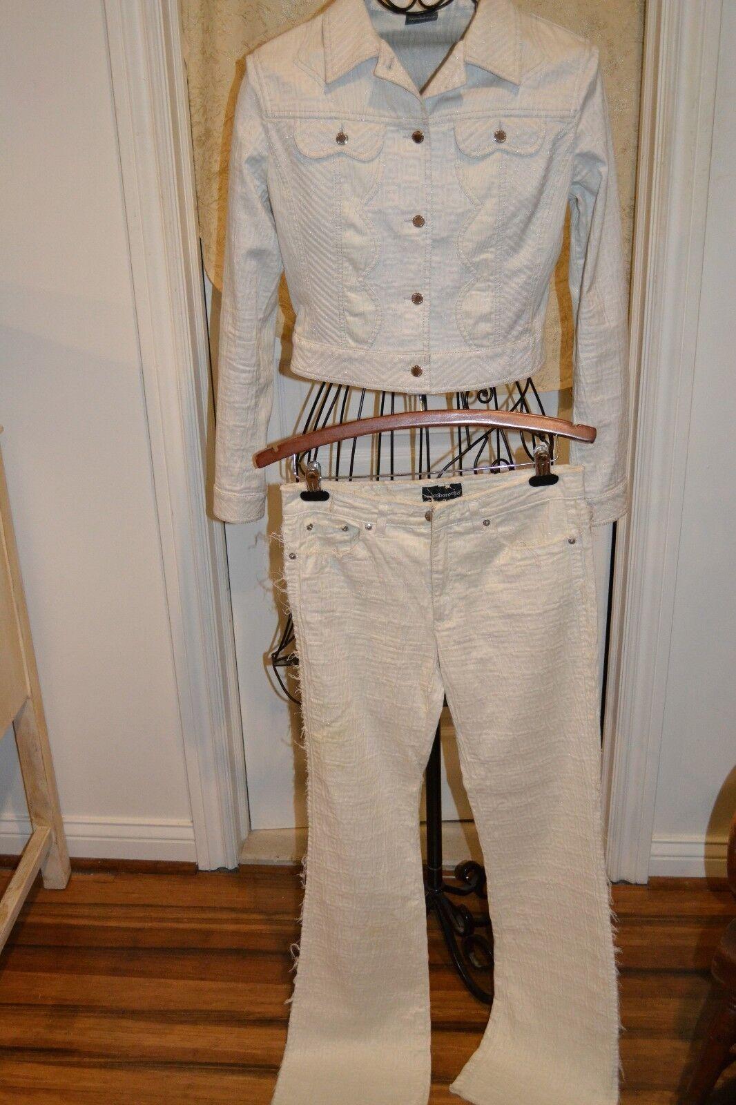Roccobarocco Womens Blazer 10 Pants 31