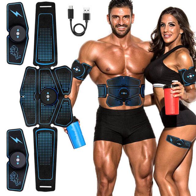 Abdominal Muscle Toner ABS Stimulator Hip Trainer EMS Machine Toning Belt