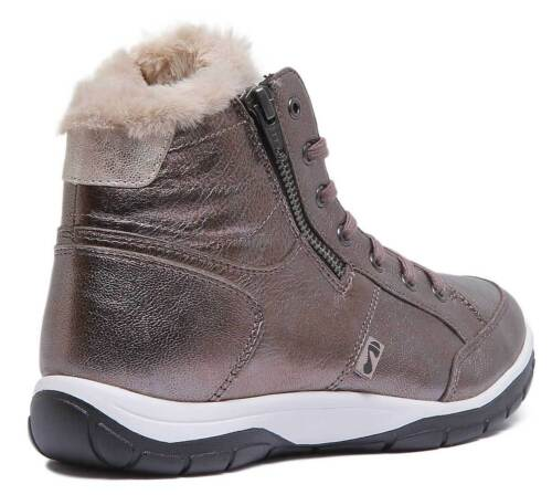 Womens Matt Uk 8 Antracite 3 Strive Size Ankle Leather Chatsworth Boots I0xwSWqv5S