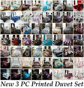 Duvet-Cover-with-Pillow-Case-Quilt-Cover-Bedding-Set-Single-Double-King-amp-S-King