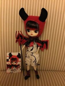 Pullip-Dal-Doll-10-Inch-Lipoca-Little-Devil-EUC-With-Card-And-Pitchfork