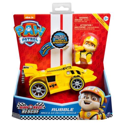 Paw Patrol PAT PATROUILLE Ready Race Rescue Ruben rubble véhicule et figurine