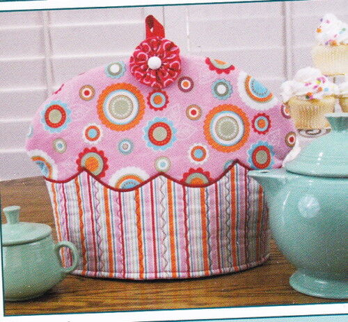 PATTERN Susie C Shore Cupcake Tea Cozy PATTERN Tea /& Cupcakes