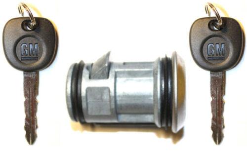 NEW OEM GM SPARE TIRE LOCK REAR BUMPER CYLINDER WHEEL CARRIER W//2 Matching Keys