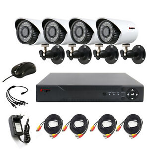 4CH-CCTV-Security-Camera-System-HDMI-HD-720P-Outdoor-Video-Surveillance-DVR-Kit