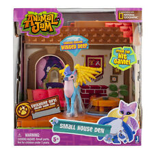 ANIMAL JAM SMALL HOUSE DEN LIMITED EDITION WINGED DEER FIGURE PLAY SET TOY