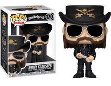 Motorhead Funko Pop Rocks Lemmy Kilmister Vinyl Figure w// Protector