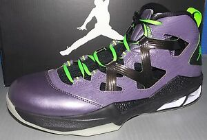 check out b2a37 33d08 Image is loading MENS-NIKE-JORDAN-MELO-M9-BLACKLIGHT-PURPLE-ELECTRIC-