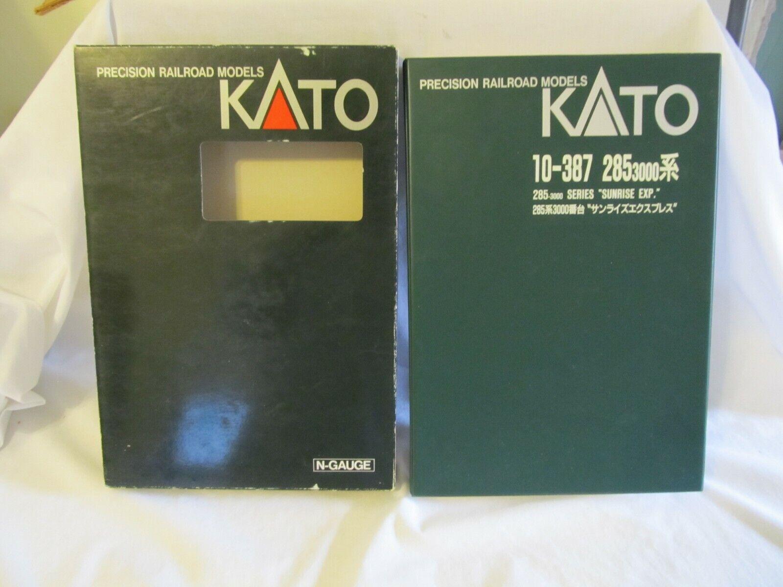 Kato 10387 2853000 SERIES Sunrise EXP. 8auto Set Nuovo in Scatola