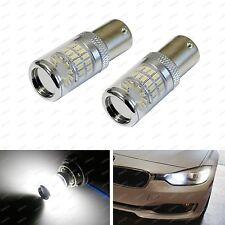 Error Free White LED Bulbs Fit BMW F22 F30 F32 2 3 4 Series Turn Signal Lights