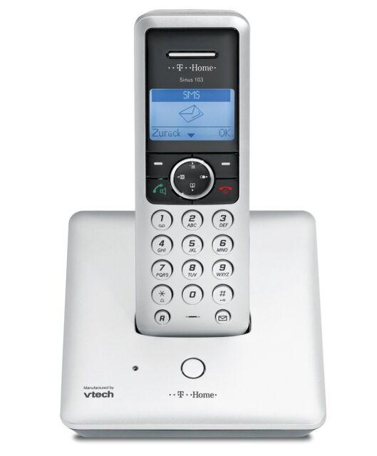 T-SINUS 103 Schnurlos Dect Telefon Telekom Schnurloses Gerät TOPREIS ECO MODE