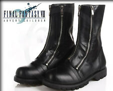 Halloween Sale Final Fantasy 7 Black Cloud Strife Cosplay Costume Shoes Boots