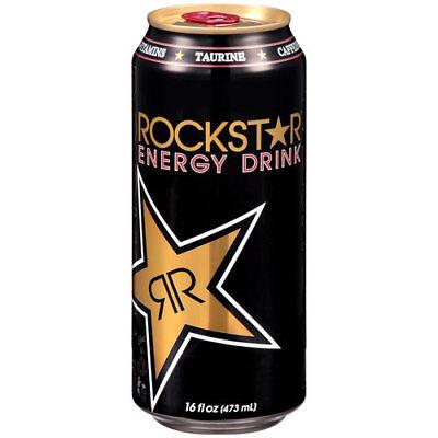 NEW ROCKSTAR SUGAR FREE ENERGY DRINK 16 FL OZ FULL CAN NEW CAN ARTWORK BUY NOW