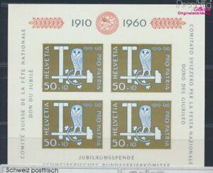 Schweiz-Block17-postfrisch-1960-Pro-Patria-8618527