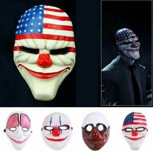 PVC-Full-Head-Mask-Halloween-Costume-Cosplay-Scary-Fancy-Dress-Prop-Top