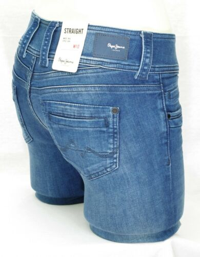 Donna Blu Fit Jeans Pl201157ge02 Stretch Fit Gen Pepe Straight Straight 07nv8